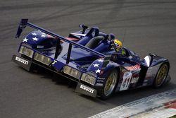 #41 Binnie Motorsports Lola B05/40-Nicholson Mclaren V8: William Binnie, Robert Julien, Adam Sharpe