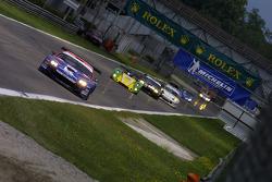 #61 Convers Team  Ferrari 550 Maranello: Nicolaj Fomenko, Alexei Vasiliev, Christophe Bouchut