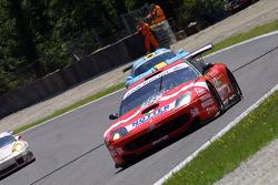 #51 BMS Scuderia Italia  Ferrari 550 Maranello: Christian Pescatori, Michele Bartyan, Toni Seiler