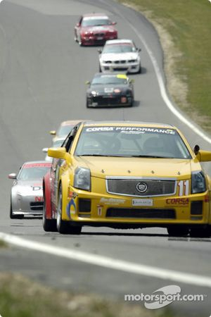 #11 Powell Motorsport Cadillac CTS-V: Devon Powell, Don Knowles