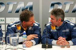 Jody Scheckter and Mick Doohan