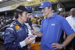 Alain Prost y Marcel Fassler