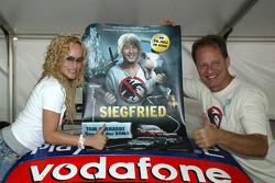 Movie actors Dorkas Kieper and Tom Gerhardt