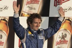 Race winner Alain Prost