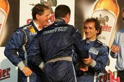 Jody Scheckter, Nigel Mansell and Alain Prost