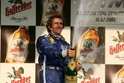 Champagne for Alain Prost