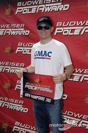 Pole winner Brian Vickers