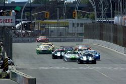 Start: Paul Gentilozzi leads the field