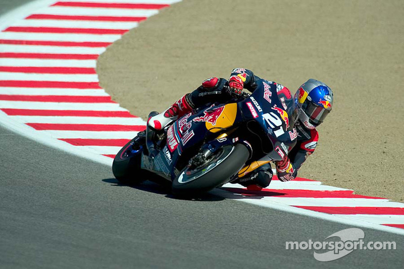 USA-Grand-Prix 2005: John Hopkins (Suzuki)