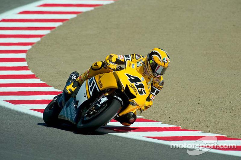 Gauloises Yamaha - Valentino Rossi e Colin Edwards - GP dos Estados Unidos 2005