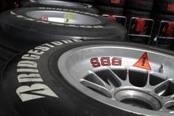 Un pneu Bridgestone