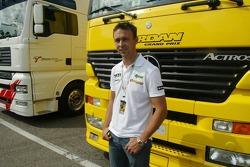 Nicolas Kiesa, piloto de pruebas de Jordan