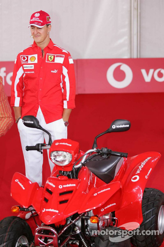 Evento de Vodafone en Hockenheim Talhaus: Michael Schumacher