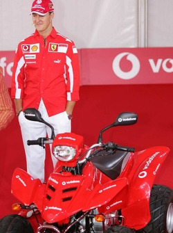 Vodafone event at Hockenheim Talhaus: Michael Schumacher