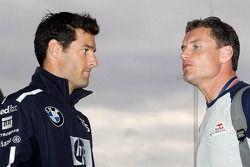 Mark Webber et David Coulthard