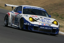#24 Alex Job Racing Porsche 911 GT3 RSR: Randy Pobst, Ian Baas