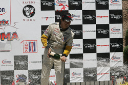 GT1 podium: champagne for everyone