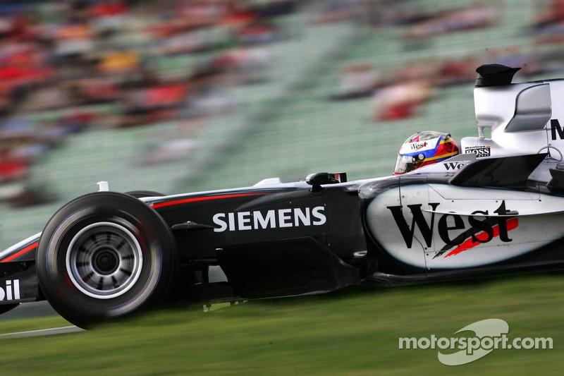 11-15. 18 позиций – Хуан-Пабло Монтойя, McLaren-Mercedes: с 20-го на 2-е, Гран При Германии 2005 года