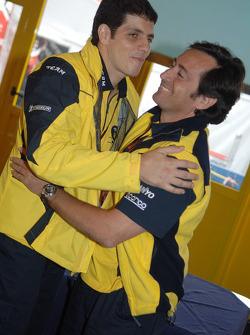 Alex Barros fête son 250e Grand Prix avec Sito Pons