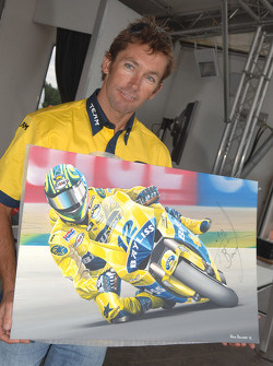 Troy Bayliss at a public appearance