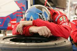 Andretti Green crew member at work