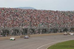 Pike's Peak is see over the grandstands