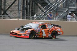 Johnny Sauter returns to racing with parts missing