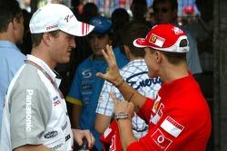 Michael Schumacher et Ralf Schumacher