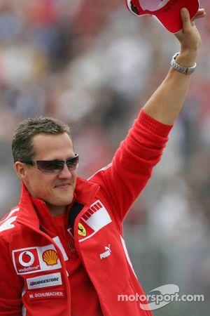 Présentation des pilotes : Michael Schumacher