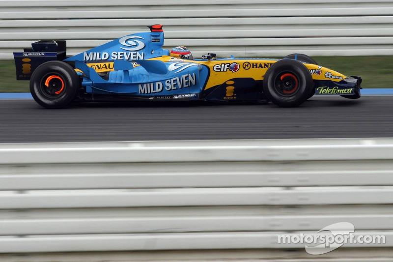 2005 (Hockenheim): Fernando Alonso (Renault R25)