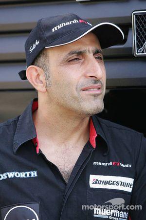 Chanoch Nissany piloto de pruebas de Minardi