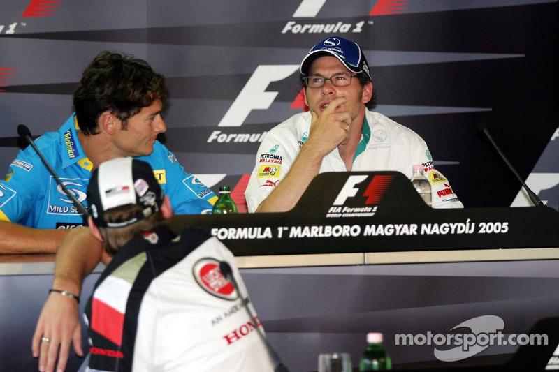 Conferencia de prensa FIA: Giancarlo Fisichella y Jacques Villeneuve
