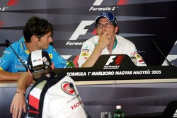 Thursday FIA press conference: Giancarlo Fisichella and Jacques Villeneuve