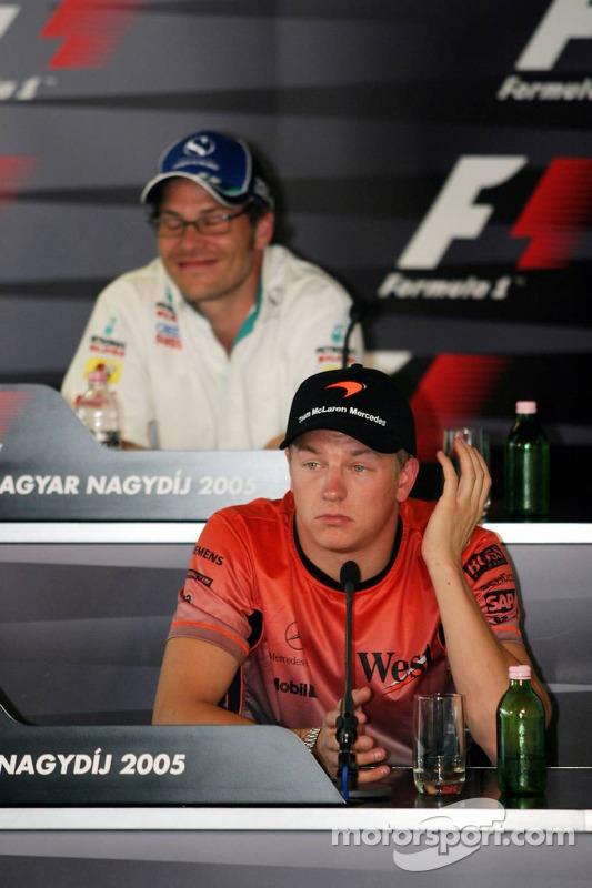 Conferencia de prensa FIA: Jacques Villeneuve y Kimi Raikkonen