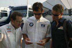 Jacques Villeneuve, Mark Webber y David Coulthard