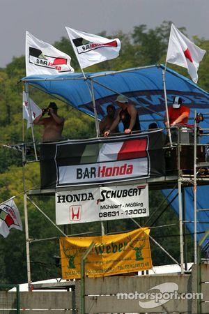 Fans en el Hungaroring