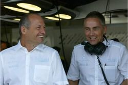 Ron Dennis dan Marin Whitmarsh