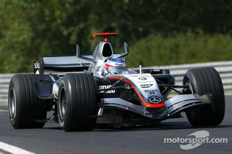 2005: Kimi Räikkönen, McLaren-Mercedes MP4-20
