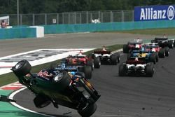 Überschlag: Christian Klien, Red Bull Racing