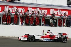 3. finish for Ralf Schumacher