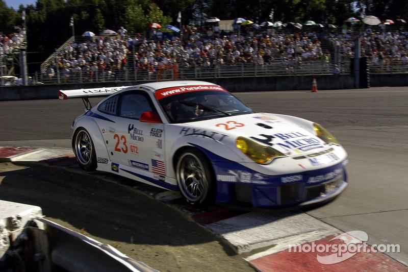 Alex Job Racing Porsche 911 GT3 RSR : Darren Law, Ian Baas