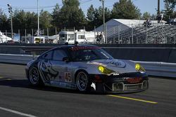 #45 Flying Lizard Motorsports Porsche 911 GT3 RSR: Johannes Van Overbeek, Jon Fogarty