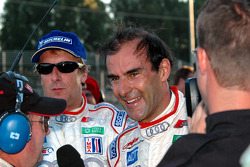 Frank Biela and Emanuele Pirro