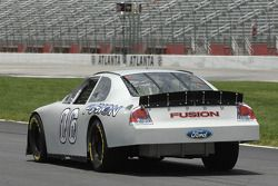 Dale Jarrett tests the 2006 Ford Fusion