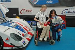 Katherine Shelton, Milka Duno with MDA No. 2 Citgo