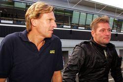 David Sears, Super Nova Team-eigenaar, met Jos Verstappen