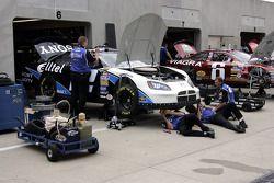 L'équipe Alltel Dodge au travail