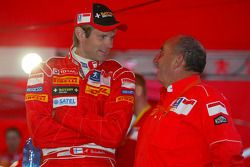 Marcus Gronholm et Jean-Pierre Nicolas