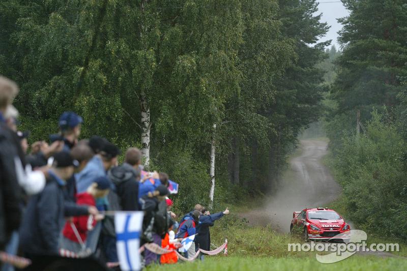 7. Rally de Finlandia 2005: 122,49 km/h