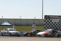 #13 Unitech Racing Nissan 350Z: David Murry, Blake Rosser, #85 Knobel Racing Porsche 996: Joe Fox, C